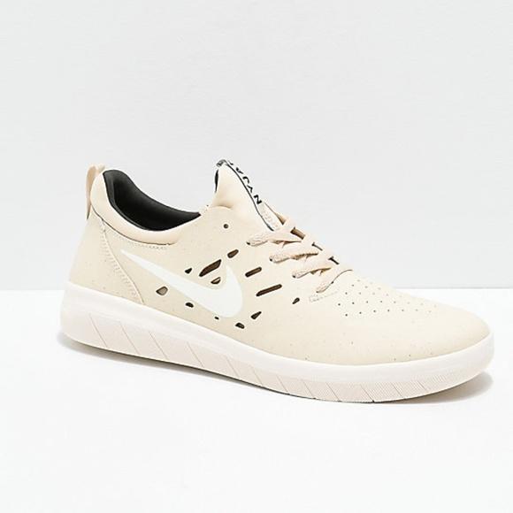 5df54960eb8c0 Nike Shoes | Sb Nyjah Free Beach Sail Sequoia Skate Shoe | Poshmark